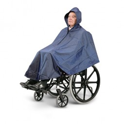 poncho fauteuil roulant
