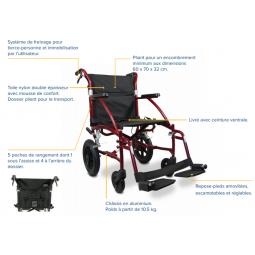 fauteuil de transfert stan
