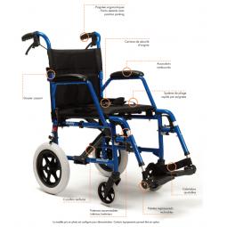 fauteuil de transfert bobby