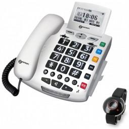 téléphone avec appel d'urgence