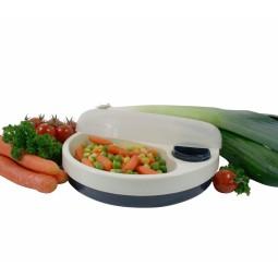 assiette thermodynamique compartimentée