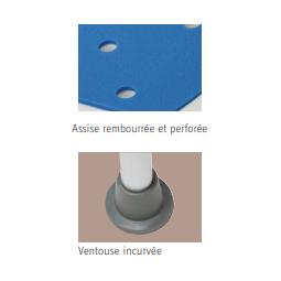tabouret blue seat caractéristiques